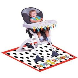 High Chair Kit-Plastic-Barnyard Bash 1st Birthday-1pkg
