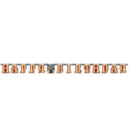 Jointed Banner-Valiant Knight Birthday-1pkg-7.23ft