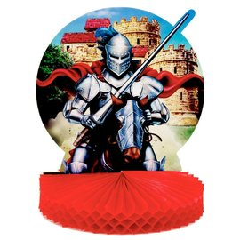 Centerpiece-Honeycomb-Valiant Knight-1pkg-11.75""