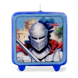 Candle-Valiant Knight-1pkg