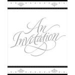 Invitations-Stafford Silver-8pk