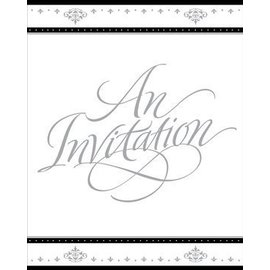 Invitations-Stafford Silver-8pk