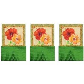 "Centerpiece Kit-Honeycomb-Bamboo Bash-3pkg-5.5"""