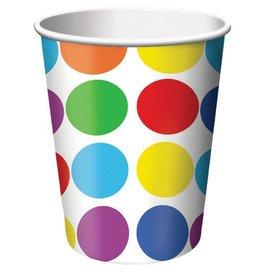 Paper Cups-Lets Have a Party-8pkg-9oz - Discontinued/Final Sale