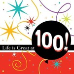 Napkins-BEV-Life is Great at 100-16pkg-3ply - Discontinued