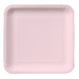 Plates-LN-Classic Pink-18pkg-Paper (Discontinued)