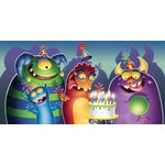 Table Cover-Monster Mania-Plastic-54'' x 108'' - Discontinued