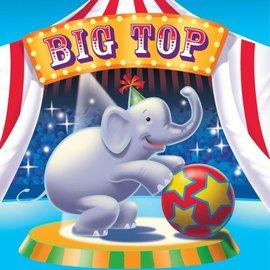 Napkins-LN-Big Top Circus-16pkg-3ply - Discontinued