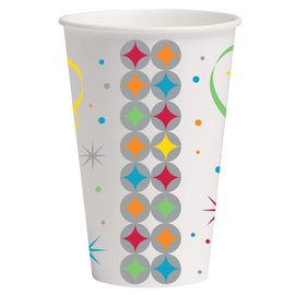 Paper Cups-Celebrate in Style-8pkg-12oz - Discontinued