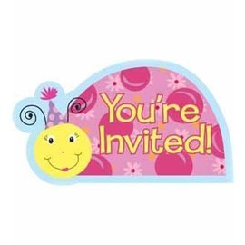 Invitations-Lil Lady Bug-8pkg