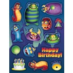 Stickers-Monster Mania-4 Sheets (Discontinued)