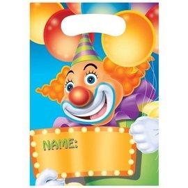 Loot Bags-Big Top Circus-8pkg
