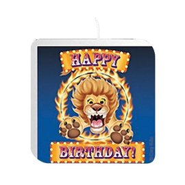 Candle-Big Top Circus-1pkg