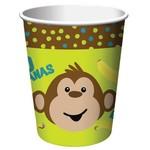 Paper Cups-Monkeyin Around-8pkg-9oz