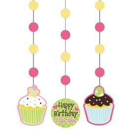 "Hanging Cutouts-Sweet Treats Happy Birthday-3pkg-36"""