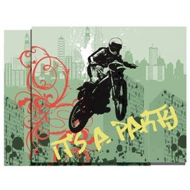 Invitations- Xtreme Action-8pk