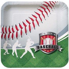 Plates-DN-Baseball Fanatic-8pkg-Paper