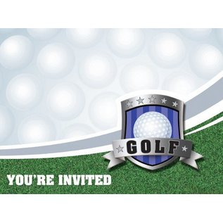 Invitations-Golf Fanatic-8pkg