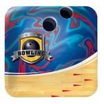 Plates-BEV-Bowling Fanatic-8pkg-Paper