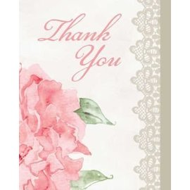 Thank You Cards-Antique Bridal-8pkg