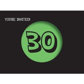 Invitations-Holy Bleep 30th-8pk