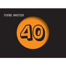 Invitations-Holy Bleep 40th-8pk