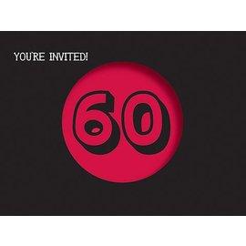 Invitations-Holy Bleep 60th-8pkg