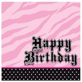 Napkins-LN-Super Stylish Birthday-16pkg-3ply - Discontinued