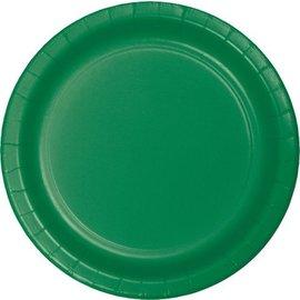 Plates-BEV-Emerald Green-75pkg-Paper