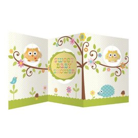 Centerpiece-Accordion-Happi Tree Baby Shower-1pkg-27""