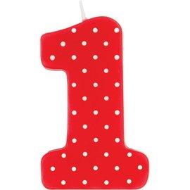 Candle-Ladybug 1st Birthday