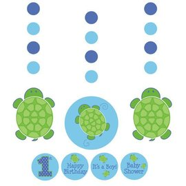 Hanging Cutouts-Customizable-Mr. Turtle-3pkg-36""