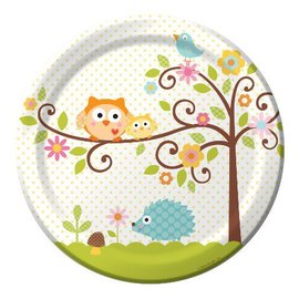 Plates-LN-Happi Tree-8pkg-Paper - Final Sale