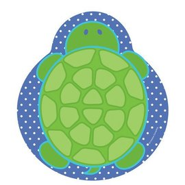 Plates-LN-Mr. Turtle-8pkg-Paper - Discontinued