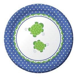 Dinner Paper Plates-Mr. Turtle-8pk-Discontinued/Final Sale