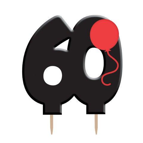 Candle Holy Bleep 60th Birthday 1pkg