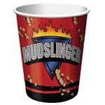 Paper Cups-Mud Slinger-8pkg-9oz - Final Sale