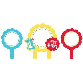 Cupcake Photo Holders-Personalize 1st Birthday