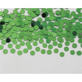 Confetti-Citrus Green Circle Dots-14g