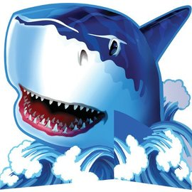 Centerpiece-Diecut-Shark Splash-1pkg
