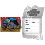 Invitations-Mud Slinger-8pkg
