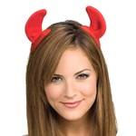 Costume Accessory-Clip On Devil Horns-1pkg