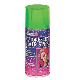 Fluorescent Green Hair Spray-1pkg-3oz
