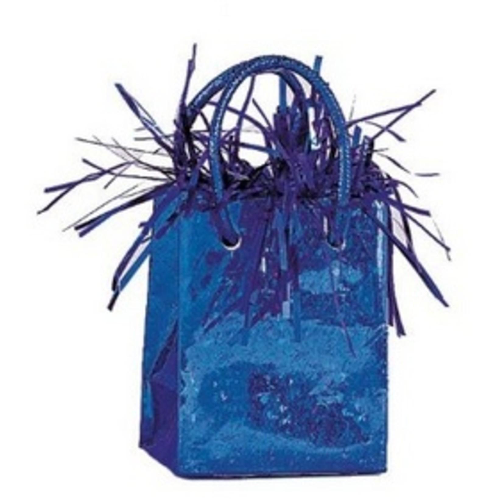 "Balloon Bag Weight-Royal Blue-1pkg-3""x2.5"""