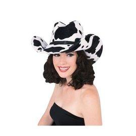 Costume Accessory-Cow Print Cowboy Hat-1pkg