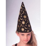 Costume Accessory-Conical Wizard Hat-1pkg