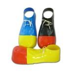 """Costume Accessory-Plastic Clown Shoe Covers-1pkg-16"""""""