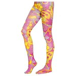 Costume Accessory-Flower Power Tights-Kids Small
