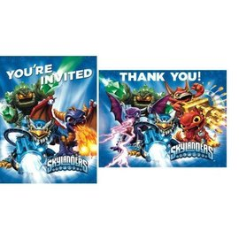 Invitations-Skylanders-8pk (Discontinued)