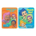 Thank You Cards-Bubble Guppies-8pk